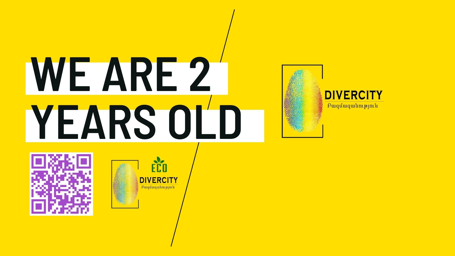 """""""DiverCity"""" NGO is 2 Years Old   April 26"""